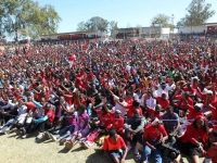 MDC-T Mucheke Stadium Rally in Pictures