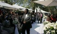 Prime Minister Morgan Tsvangirai and his new wife Elizabeth Macheka 1