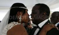 Prime Minister Morgan Tsvangirai and his new wife Elizabeth Macheka 2