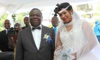 Tsvangirai wedding 7
