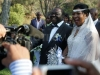 Prime Minister Morgan Tsvangirai and his new wife Elizabeth Macheka 3