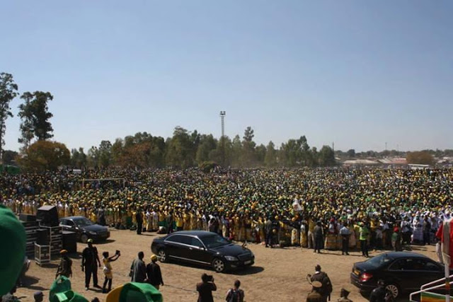 Mugabe Chitungwiza Rally In Pictures Nehanda Radio