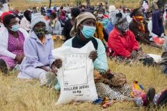 Uebert Angel donates truckloads of mealie meal to Mutorashanga in Zvimba North
