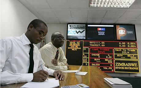 Equities hit all-time high on ZSE