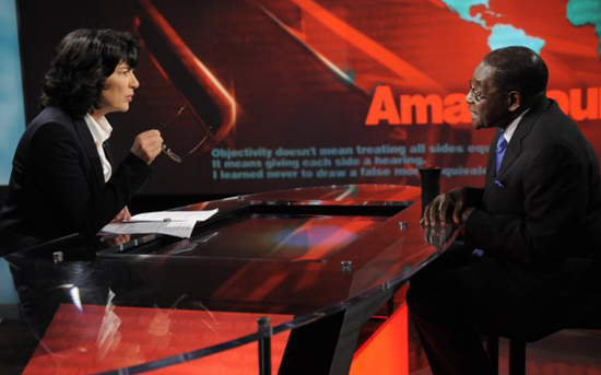 How Amanpour lost to Mugabe