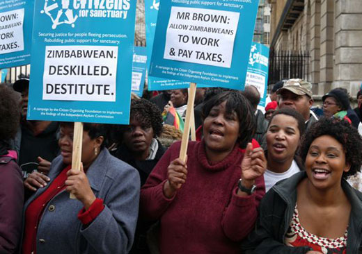 Total of 209 Zimbabweans in UK jails