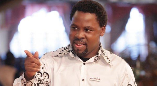Nigerian prophet Temitope Balogun Joshua (TB Joshua)