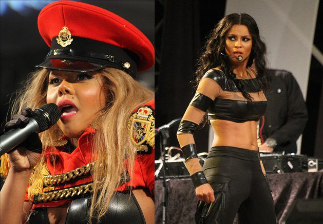 Lil Kim and Ciara