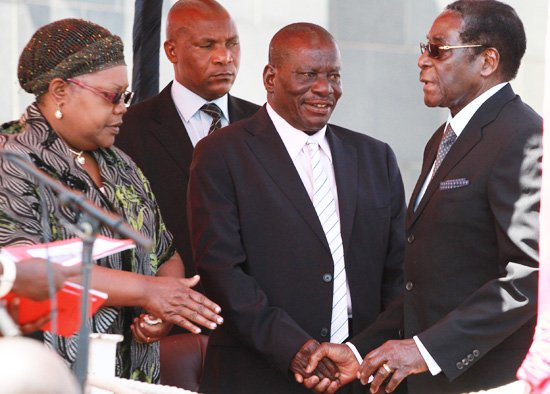 Mujuru had become an irritant to Mugabe