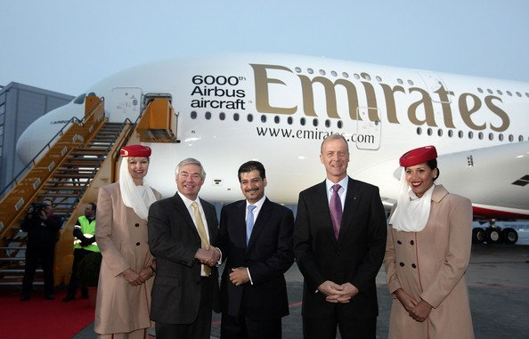 Emirates makes maiden flight into Zimbabwe
