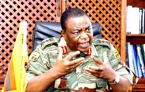 Commander of the Zimbabwe Defence Forces General Constantine Chiwenga