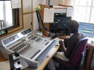 Community radio broadcasting equipment
