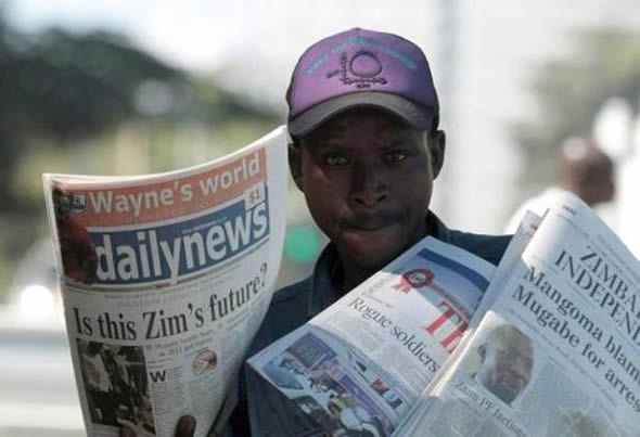 Daily News in Zimbabwe