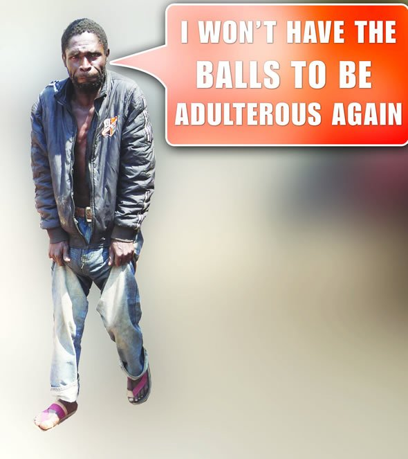 Bernard Madzivanzira is facing difficulties walking and says he can longer wear underpants after his private parts swelled up permanently in a suspected case of 'runyoka' or witchcraft