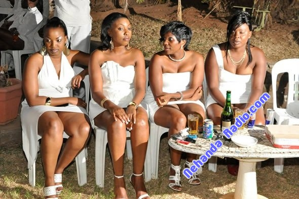 Ladies at Genius Kadungure party in Harare