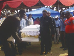 Tongai Moyo funeral and burial pictures