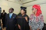 Bona Mugabe graduates in Hong Kong