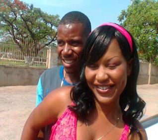 Peter Moyo and girlfriend Mercy Gumbo (not the late Nothando Paidamoyo) in 2011. Its not known if Peter and Mercy are still together.