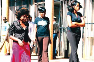 The Gweru female rape suspects, Rosemary Chakwizira and sisters Sophie and Netsai Nhokwara appear in court in Harare