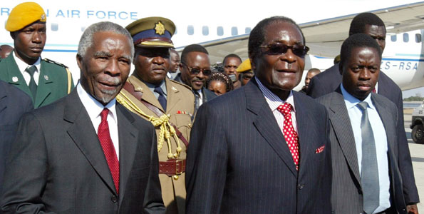Mbeki considered ditching 'unreliable' Mugabe