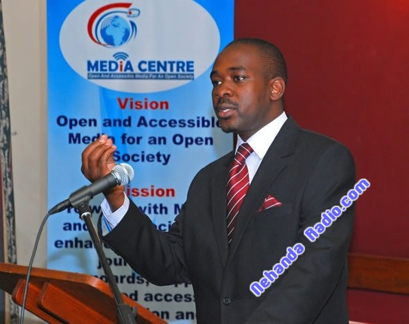 ICT Minister and Kuwadzana MP Nelson Chamisa
