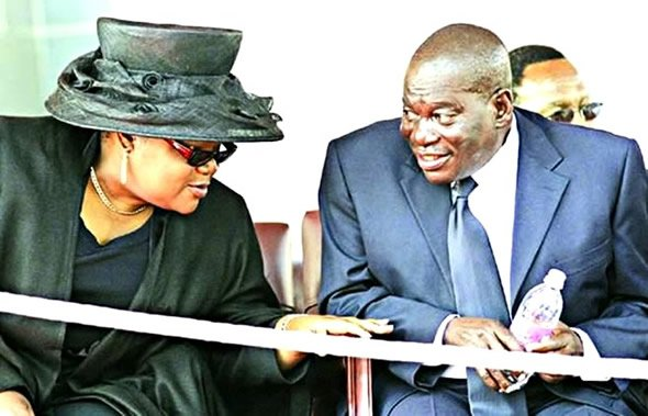 Vice President Joice Mujuru and her late husband General Solomon Mujuru