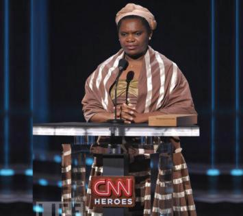 Betty Makoni, founder of the Girl Child Network in Zimbabwe, was voted one of the Top 10 CNN Heroes of 2009
