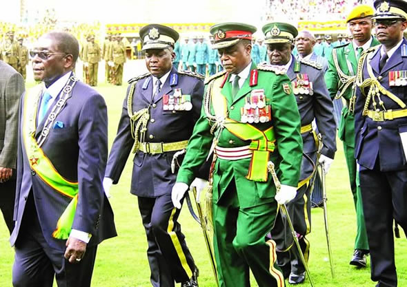 Over the years Mugabe's regime has deployed serving and retired soldiers into non-military structures, to ensure Mugabe remains in power.