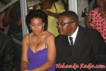 Tourism Minister Walter Mzembi (right) seen here with his wife