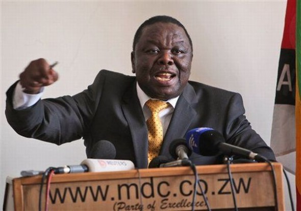 Tsvangirai tells companies to ignore grab notice