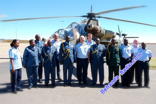 A six men entourage from Air Force Zimbabwe (AFZ) led by their Commander, Air Marshall P. Shiri, visited the South African Air Force Headquarters (SAAF HQ) in Tshwane on 8 October 2008.