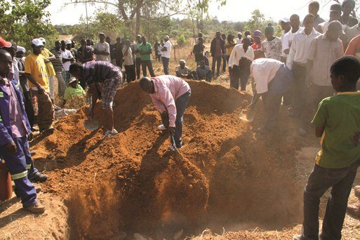 Ritual murders: Two bodies buried