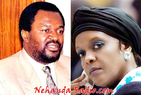 James Makamba and Grace Mugabe