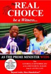 Tsvangirai and The Real Choice: Be a Witness