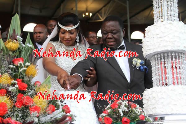 Morgan Tsvangirai wedding in pictures