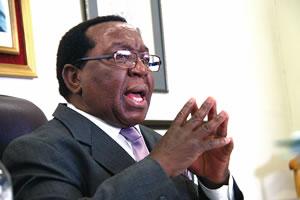 Zanu PF chairman Simon Khaya Moyo