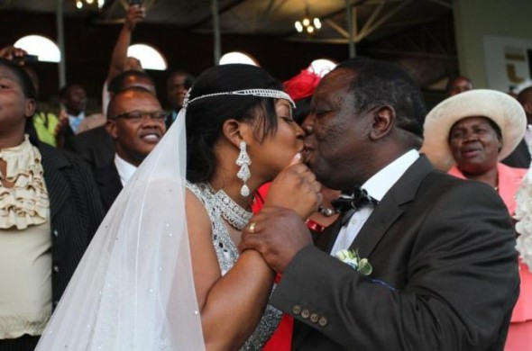 Tsvangirai had originally planned to marry under monogamous laws but his ex-lover went to court to stop it