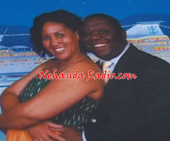 Photo of Tsvangirai with South African woman Nosipho Regina Shilubane