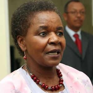 ZEC deputy chairperson Joyce Kazembe