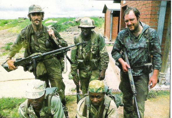 Many ex-members of the Rhodesian army, police and CIO became integrated into the South African armed forces