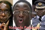 Robert Mugabe, Emmerson Mnangagwa and Perence Shiri the three key figures in the Gukurahundi Genocide