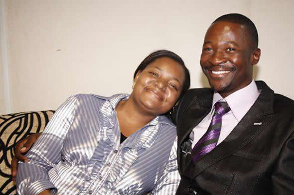 Emmanuel Makandiwa with his wife