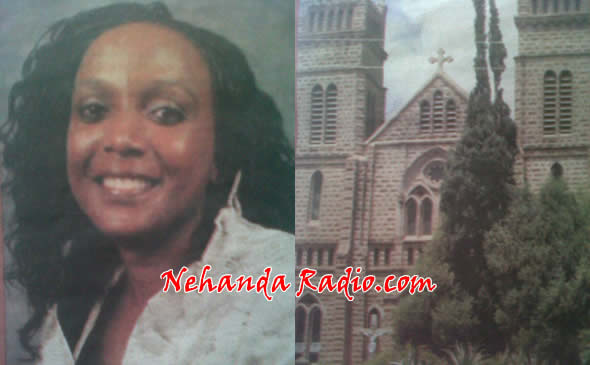 Barbara Muyengwa lost her purse and cash to a cathedral thief while she had her eyes closed in prayer