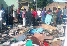 The aftermath of the Chitungwiza blast in January this year
