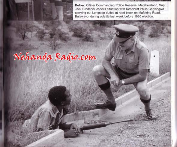 Philip Chiyangwa the Rhodesian policeman