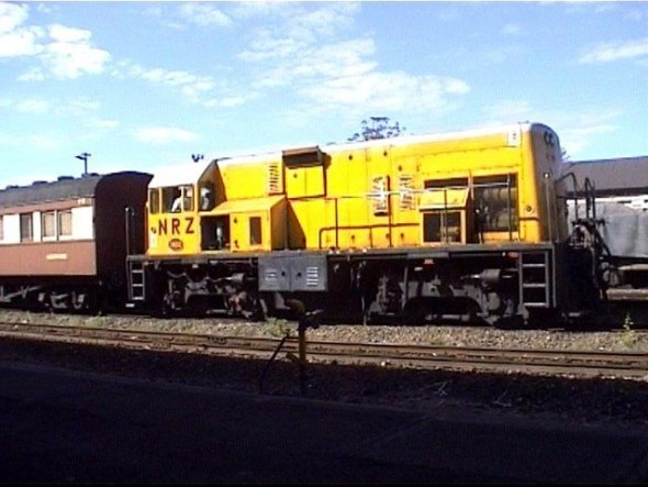 National Railways of Zimbabwe (NRZ) train.