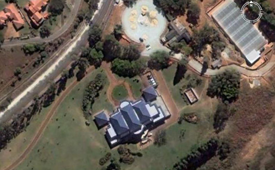 Mugabe's Borrowdale Mansion