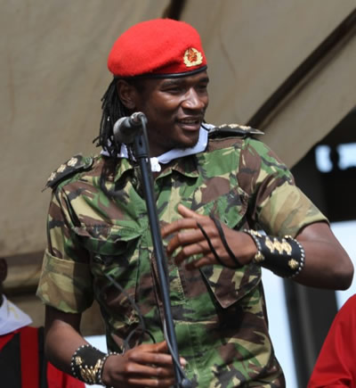 Jah Prayzah speaks on army regalia