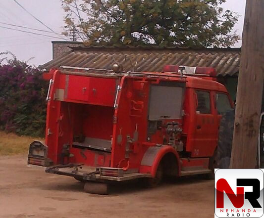 PICTURE: The Chivhu fire brigade truck