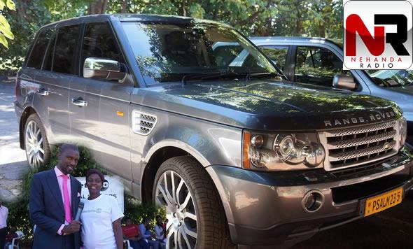 Uebert Angel Donates 100k Range Rover Nehanda Radio